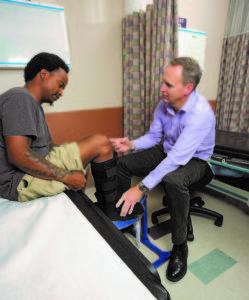 Micah Benson at New Mexico Orthopaedics