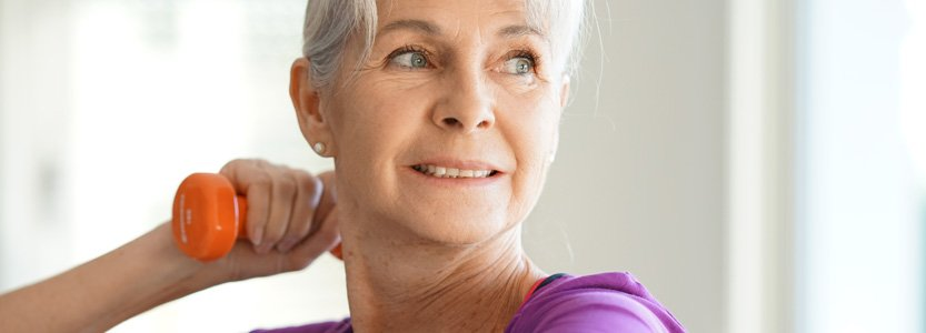 Exercise helps prevent cartilage damage caused by arthritis