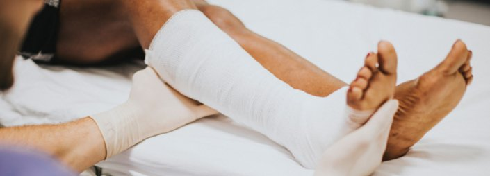 What is a hairline fracture?