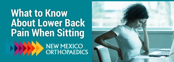 What to know about lower back pain when sitting